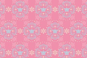 Holiday Background, Pink Pattern