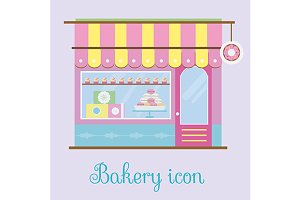 Bakery icon. vector+jpg