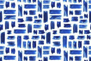 Brushstrokes grungy pattern