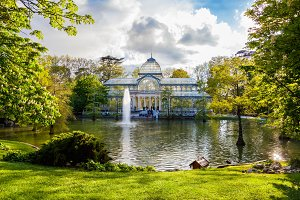 Crystal Palace,Madrid (Spain).