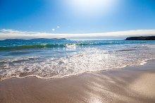 Beach Coast at Spain.