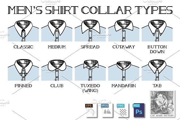 Shirt Collars Types