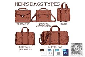 Men's bags types