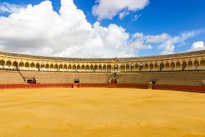 Bullfight Seville,Spain.