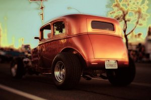 Rusted Coupe
