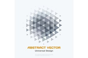 Abstract vector design elements for graphic layout. Modern busin