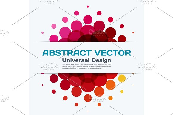 Abstract Vector Design Elements For Graphic Layout Modern Busin