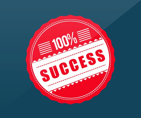 Facebook Post About Success
