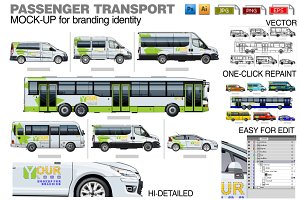 Passenger transport mock-up