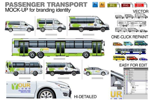 Passenger transport mock-up