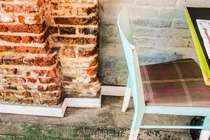 Vintage Chair Detail