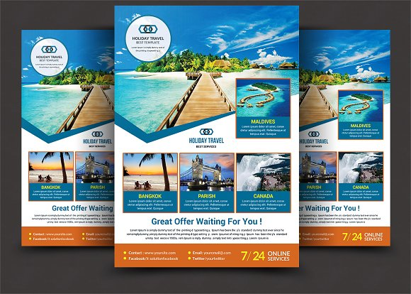Free Travel Agency Flyer Templates