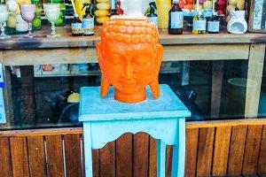Buddha Candle Figure