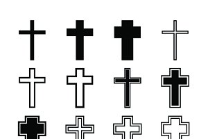 Cross icons