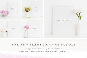 NEW: Frame mock ups Bundle