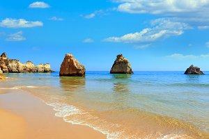 Atlantic ocean coastline