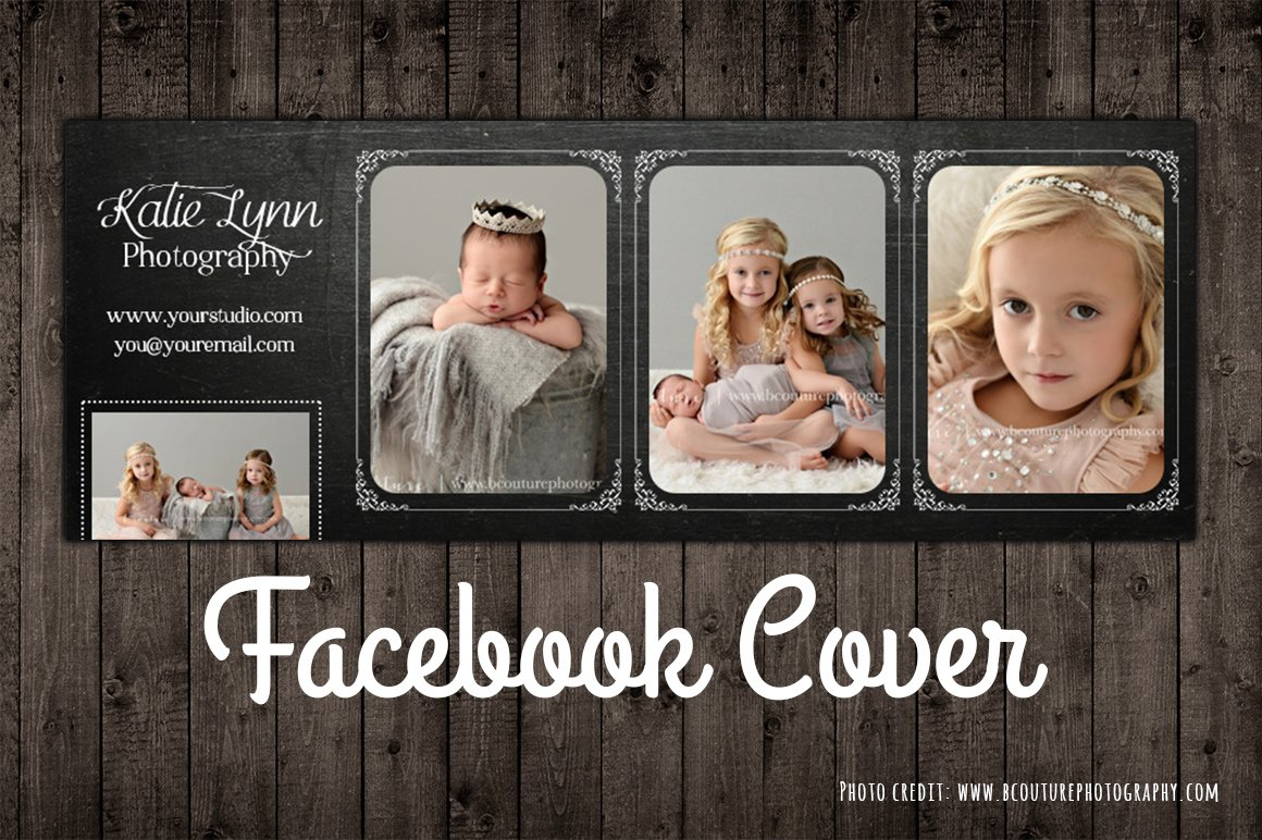 Facebook Photo Cover Template Psd Website Templates Creative Market