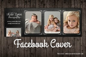 Facebook Photo Cover Template PSD