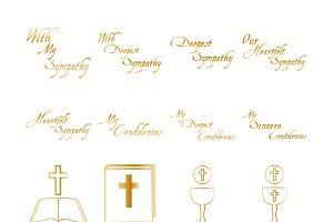 Condolences icons