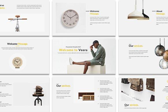 Veera Creative PowerPoint Template