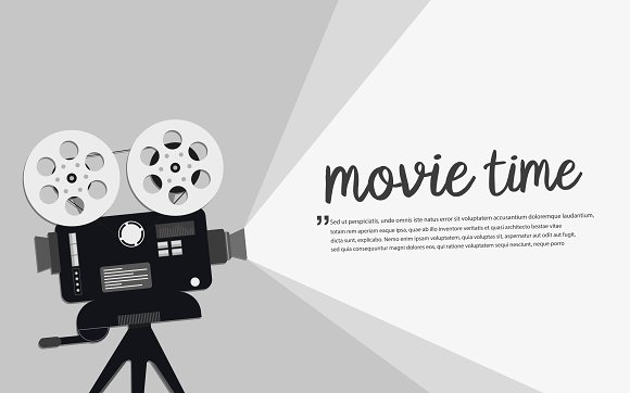 Movie Time Concept