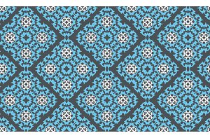 blue wallpaper pattern, vector