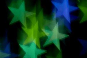 Blue Green Stars