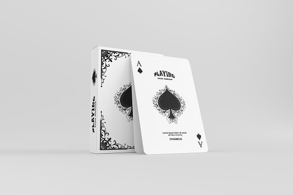 Download Playing Card Mockup - 2