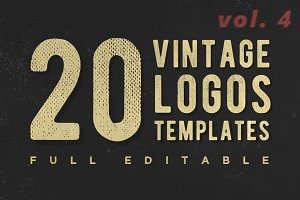 [vol. 4] Retro Classic Logotypes