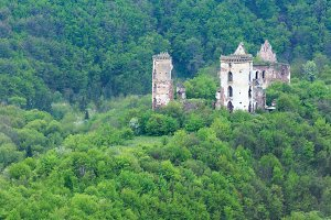 Chervonohorod castle ruins, Ukraine