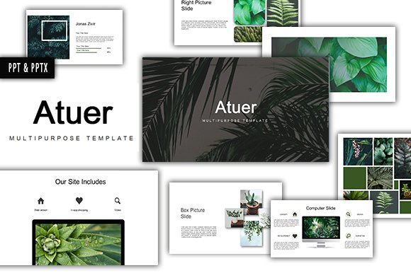 Atuer Powerpoint Template