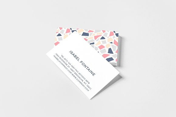 Terrazzo Business Card
