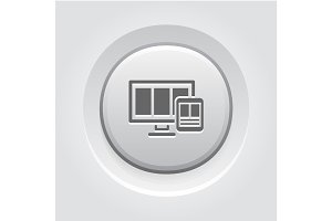Fully Responsive Web Design Icon