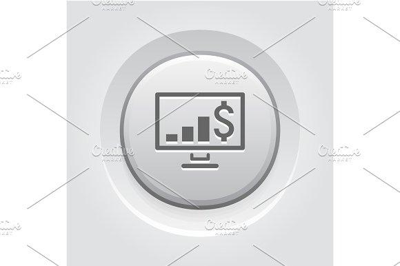 Business Chart On Desktop Icon