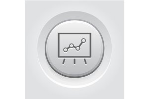 Business Flip Chart  Icon