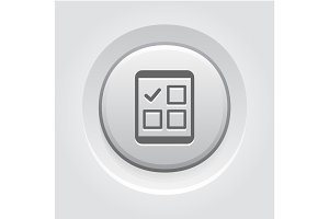 Tablet Check List Icon