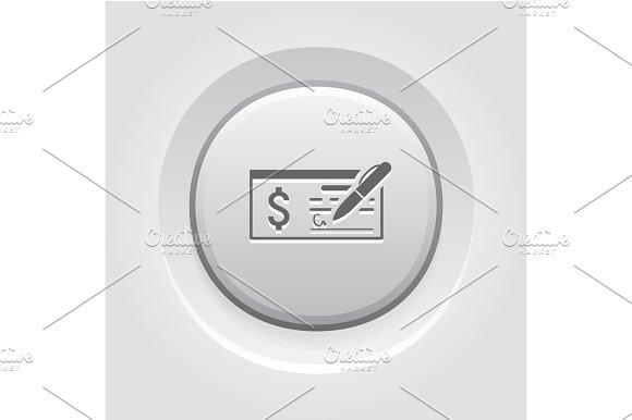 Money Check Business Icon