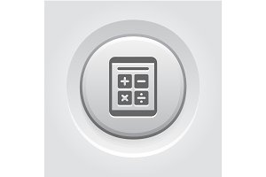 Earnings Calculator. Business Icon