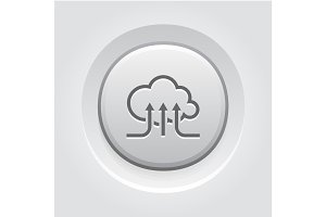 Online Cloud Services Icon