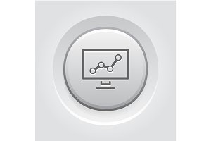 Business Analytics Icon. Concept