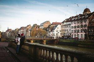 Strasbourg,. Alsace, France.