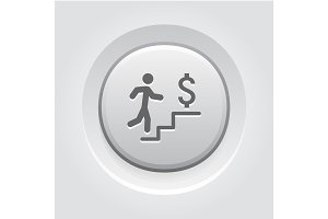 Make More Money Icon. Business Concept