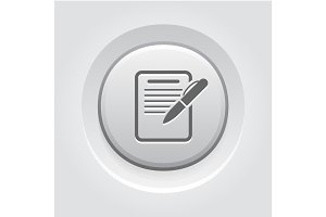 Summary Icon. Business Concept