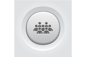 Standing Out Icon. Business Concept