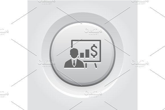 Business Training Icon Online Learning
