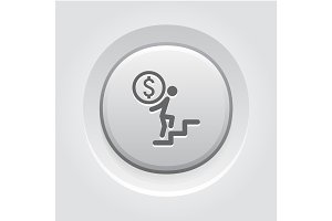 Way to Success Icon. Business Concept