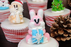 Sugar Christmas figurine