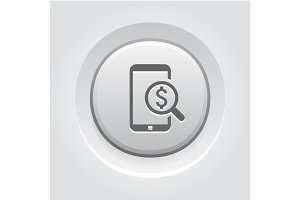 M-Commerce Icon. Business Concept