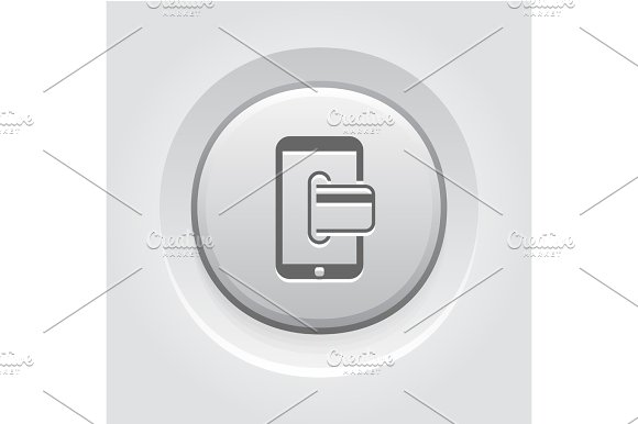Mobile Banking Icon Business Concept