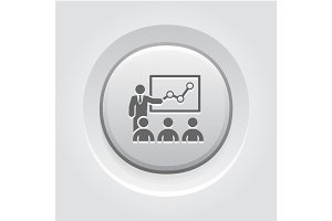 Training Icon. Business Concept